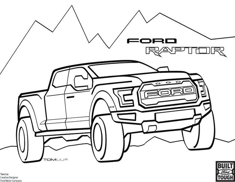 Mustang Car Coloring Pages Free - Coloring Home   612x792