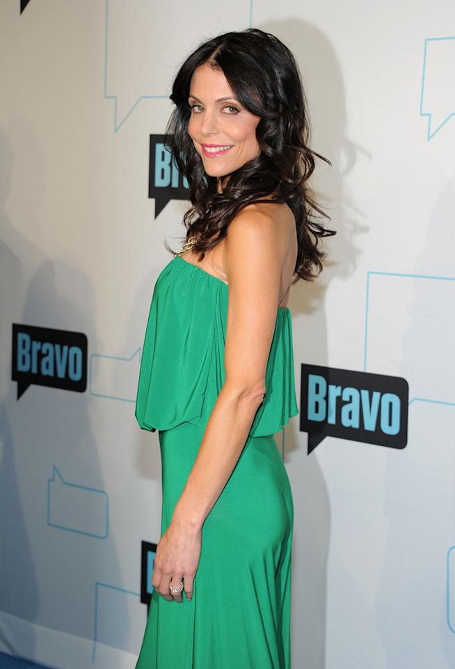 Bethenny Frankel attends Bravo's 2012 Upfront Event at Center 548 on April 4, 2012 in New York City.