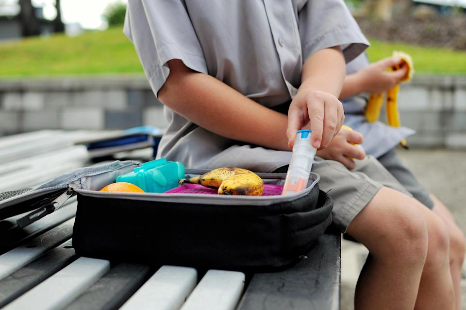 Could unhealthy lunch box choices be contributing to the obesity crisis? [Photo: Getty]
