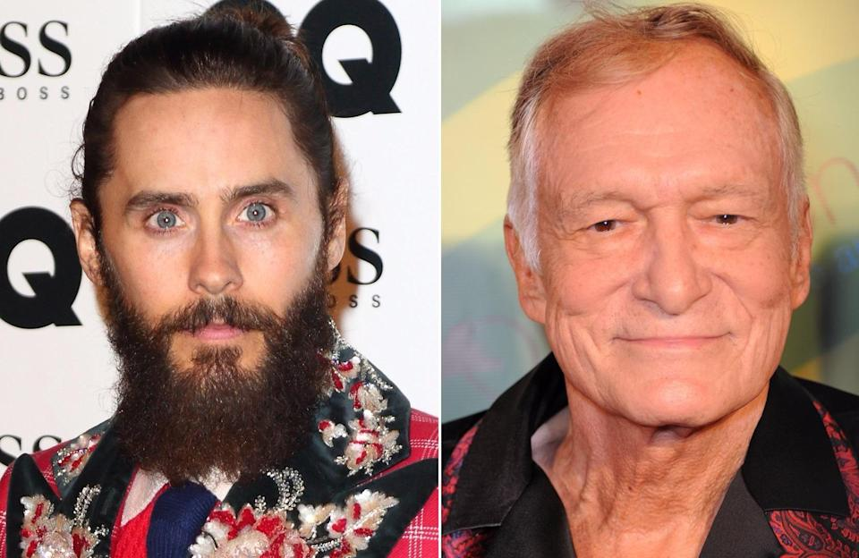 Jared Leto to portray Hugh Hefner in movie based on the late Playboy founder's life (credit: WENN)