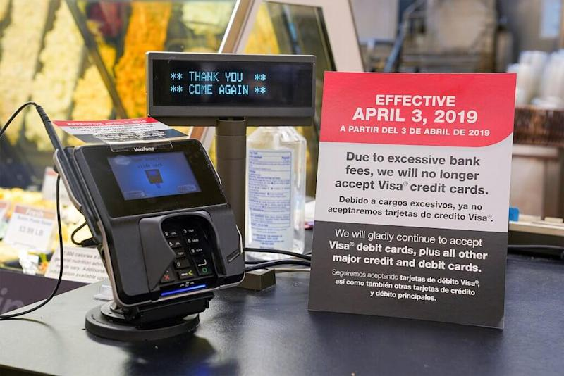 Visa's excessive fees and unfairness cannot go unchecked, Kroger