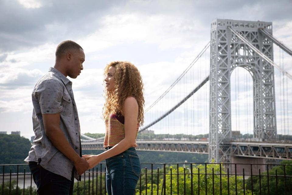 <ul> <li><strong>What to wear for Benny: </strong>Benny is a cab driver in love with Nina. Benny can be often seen in a button-down T-shirt, jeans, and sneakers.</li> <li><strong>What to wear for Nina: </strong>Making it out of the Heights and into Stanford, Nina is seen as an inspiration. Copy Nina's look by wearing a brown tank top, jeans, and sneakers.</li> </ul>