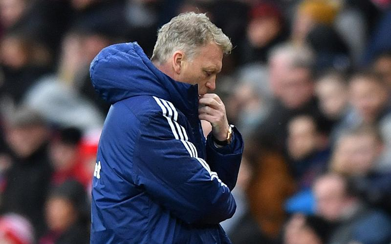 David Moyes can barely watch at the Stadium of Light - Reuters