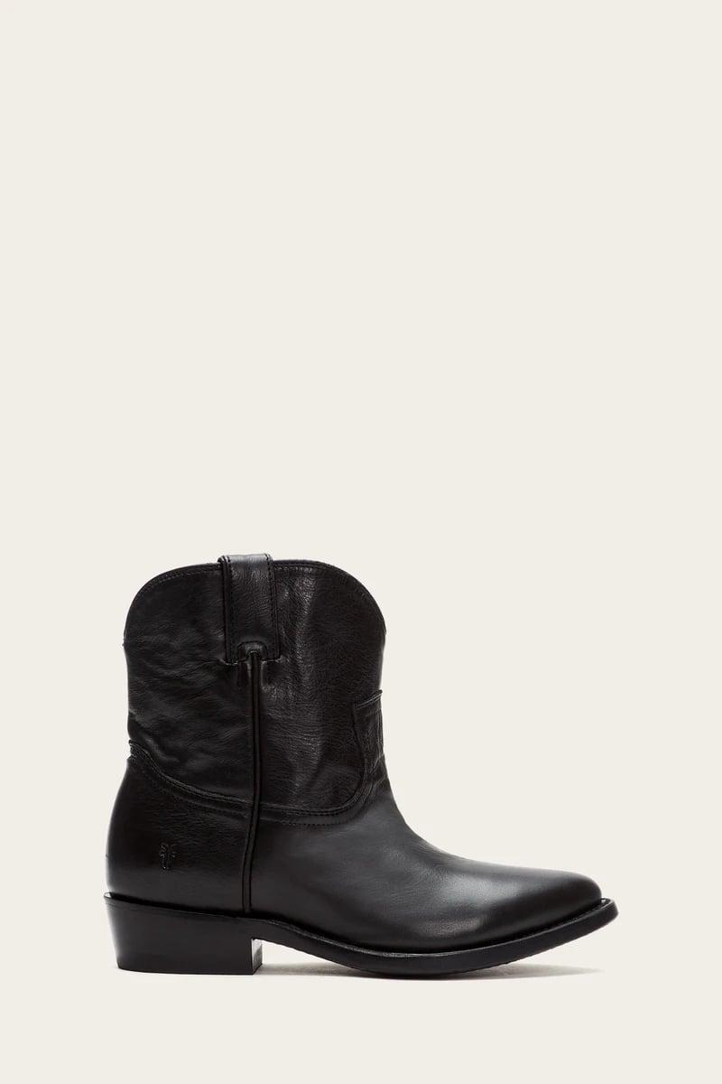 <p>If you want something you can just throw on and run out the door, grab these <span>Frye Billy Short Boots</span> ($288). We love them paired with a miniskirt or with pants tucked into the boots.</p>