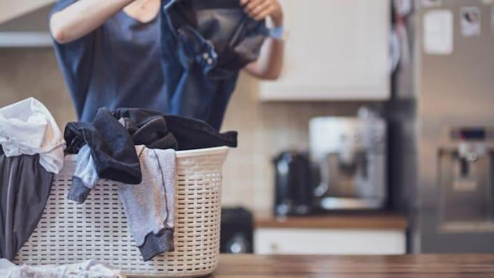 Spraying some vodka could help revive your clothes.
