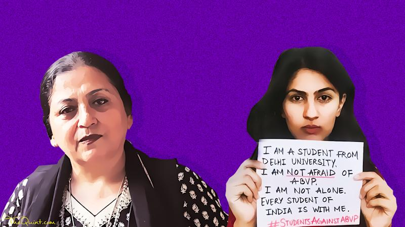 Madhu Kishwar Bashed Gurmehar, But Can She Disown Her Own Words?