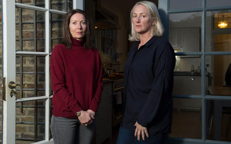 Cally Ellison and her business partner Julia Lee were developing a London property when they were tricked by a bogus builder - © Eddie Mulholland