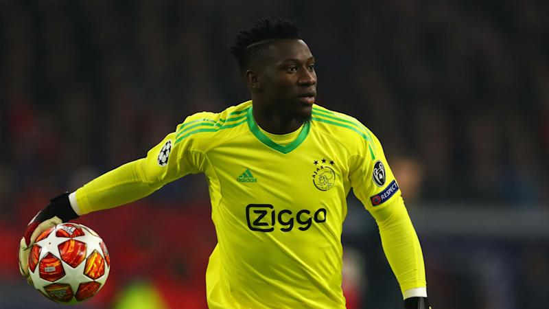 Barcelona want Ajax's Onana to join De Jong - agent
