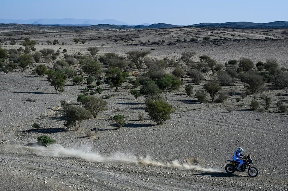 "#42 Monster Energy Yamaha Rally Team: Adrien Van Beveren<span class=""copyright"">A.S.O. </span>"