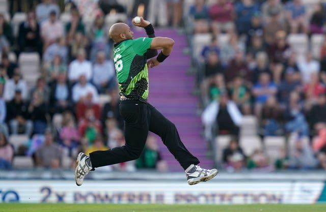 Mills is renowned for his ability to bowl in excess of 90mph and mix it up with subtle changes of pace (John Walton/PA)