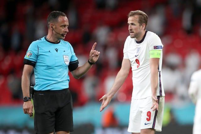Harry Kane, right, has failed to find the net so far at Euro 2020