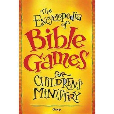 "<p><strong>Group Publishing</strong></p><p>target.com</p><p><strong>$28.49</strong></p><p><a href=""https://www.target.com/p/the-encyclopedia-of-bible-games-for-children-s-ministry-by-group-publishing-paperback/-/A-77839338"" rel=""nofollow noopener"" target=""_blank"" data-ylk=""slk:Shop Now"" class=""link rapid-noclick-resp"">Shop Now</a></p><p>If you're looking for non-stop entertainment, you've come to the right place. This book is filled with 175 different games to keep little minds busy on holidays, car trips, and more. Plus, kids can play them in small groups or quietly on their own as they learn about iconic Christian stories, like the time Jesus walked on water or washed the feet of his Disciples.</p>"