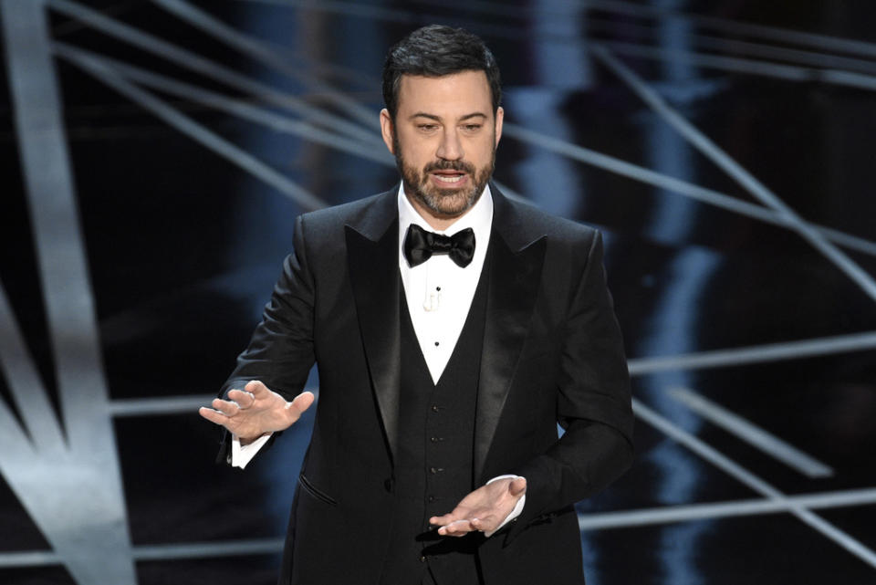 Jimmy Kimmel's own son, Billy, was revealed to have a heart disease when he was an infant. (Chris Pizzello/Invision/AP)