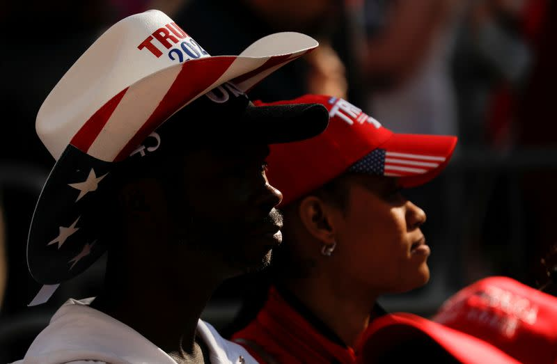 Trump campaign plans information centres for black voters in battleground states