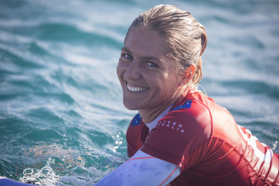 Stephanie Gilmore(Photo by Cait Miers/World Surf League via Getty Images)