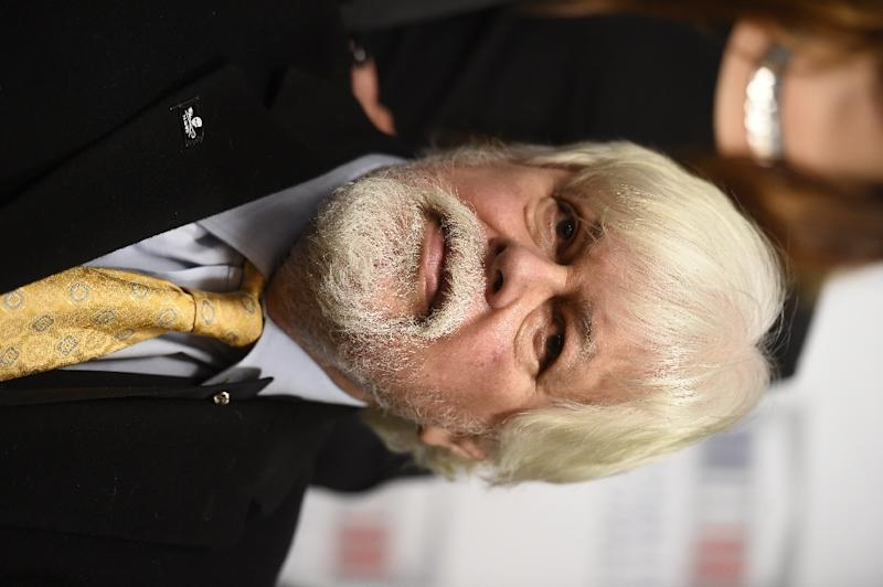 Environmental activist and Sea Shepherd group's founder, Paul Watson (AFP Photo/ERIC FEFERBERG)