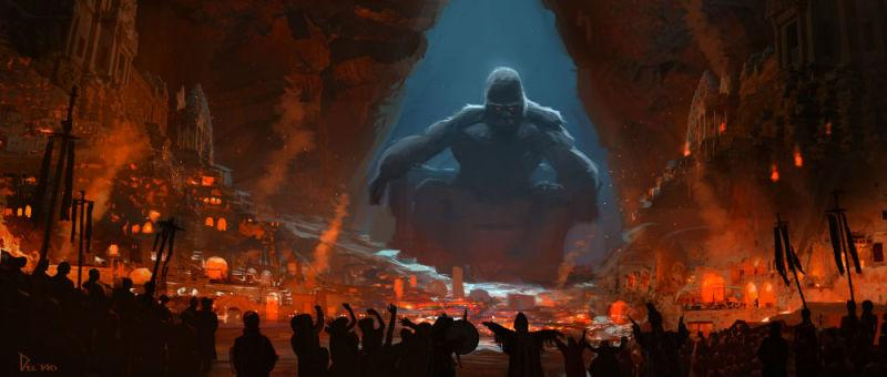 Perhaps the most striking image from the new concept art. (Credit: Eddie Del Rio)