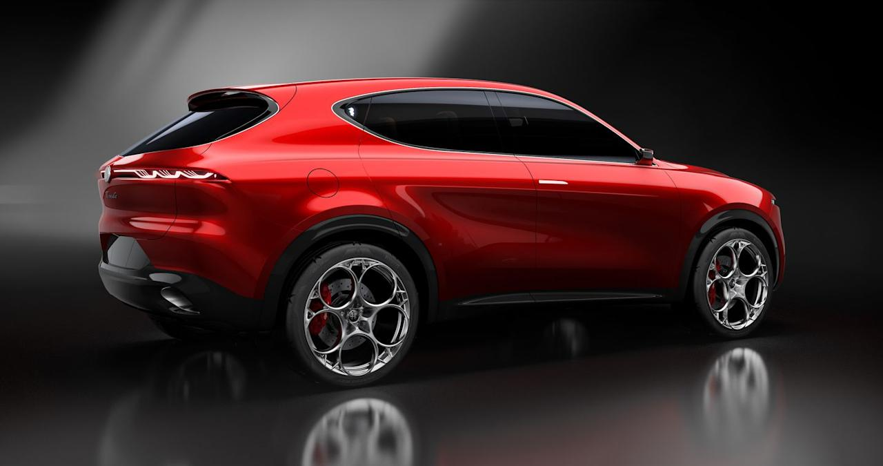 <p>A plug-in-hybrid version with an electric motor at the rear will be on the menu, kicking off Alfa's plans for more electrified models going forward.</p>