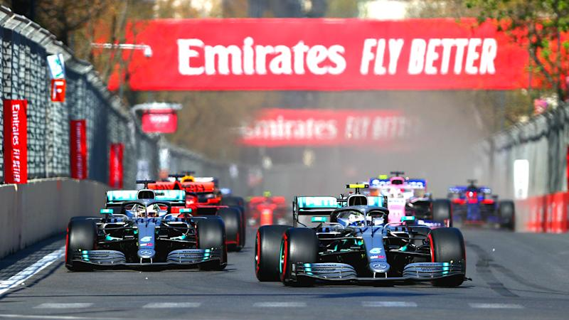 F1 schedule 2019: Date, start time, TV channel for every
