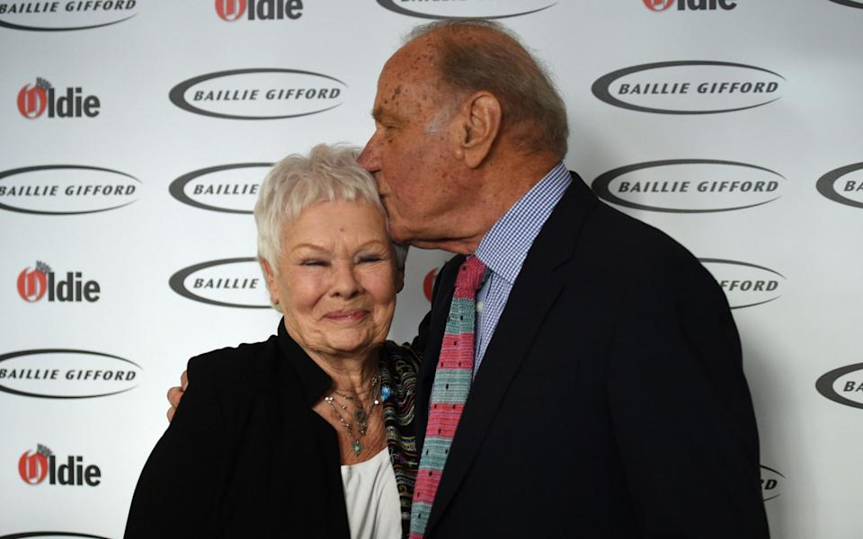 Dench and Palmer at The Oldie's annual awards ceremony in 2018 - PA/Kirsty O'Connor