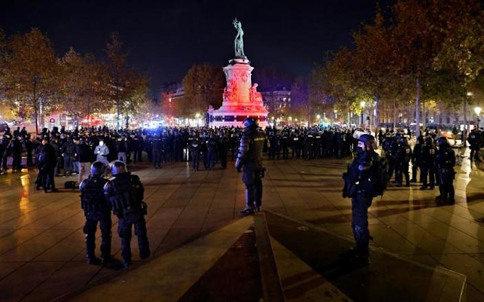 Accusations of police violence are multiplying in France