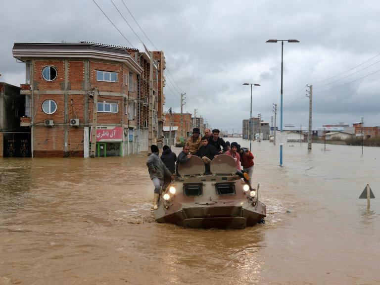 Iran floods: Torrential rain and rising water kill 17 and widen political divides
