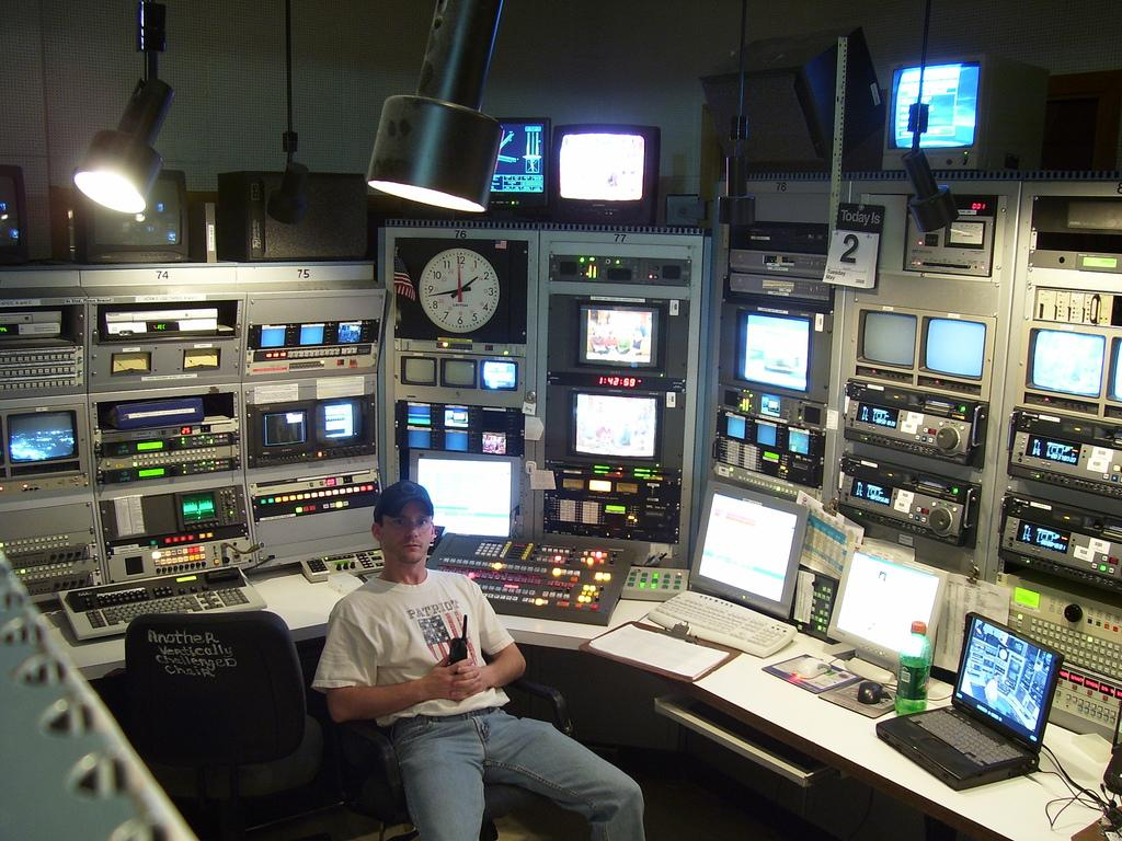 <p><b>No. 7: Radio and television</b><br />Starting salary: $38,600<br /> Mid-career salary: $64,100<br /> Only 7,300 students completed a degree in these fields, but radio and television majors can expect a 10 percent decline in positions in the next decade.<br /> (Flickr / Creative Commons) </p>