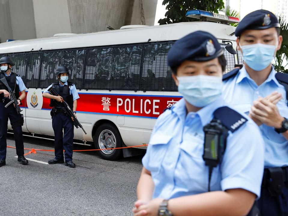 <p>A suspect has been arrested by police</p> (REUTERS)