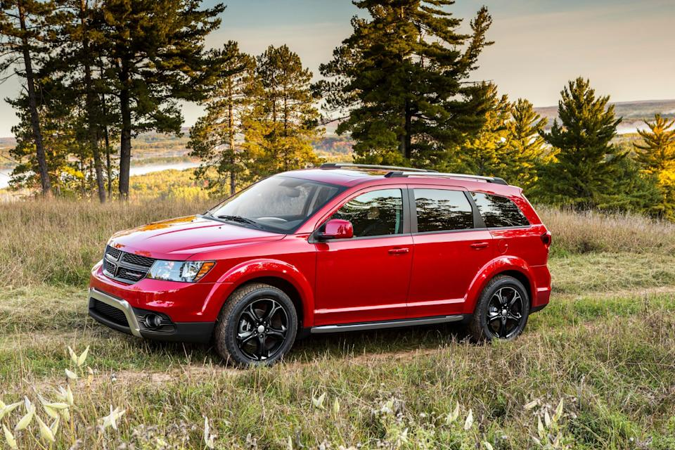The 2020 Dodge Journey Crossroad. Fiat Chrysler has discontinued the Dodge Journey.