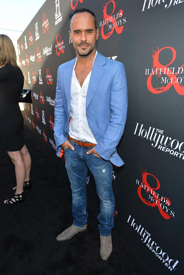 "Michael Greco attends a special screening of ""Hatfields & McCoys"" hosted by The History Channel at Milk Studios on May 21, 2012 in Hollywood, California."