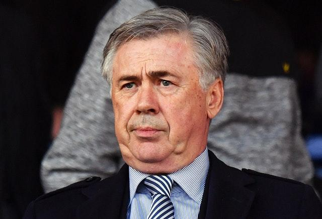 Everton manager Carlo Ancelotti was pleased to come through the festive season unscathed