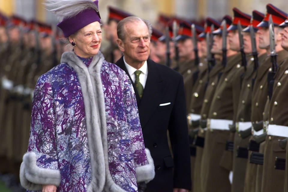 Queen Margrethe and the Duke - Ian Jones Retained