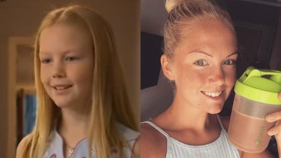 <p>She starred as Louise in Tracy Beaker but the 25-year-old blonde is now a Zumba instructor and personal trainer. Chelsie regularly posts fitness tips on her Instagram account. <i>Copyright [BBC - Chelsie Padley]</i></p>