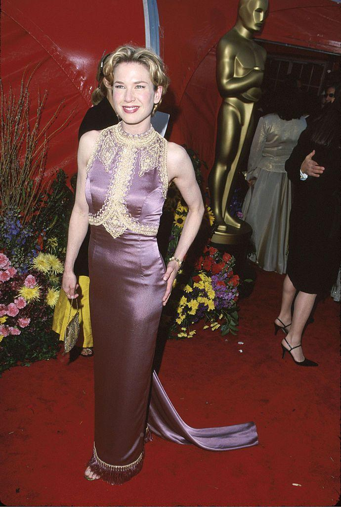<p>The Judy actor - who is a contender for the Best Actress gong this year - first graced the Oscars red carpet in 1999.</p>