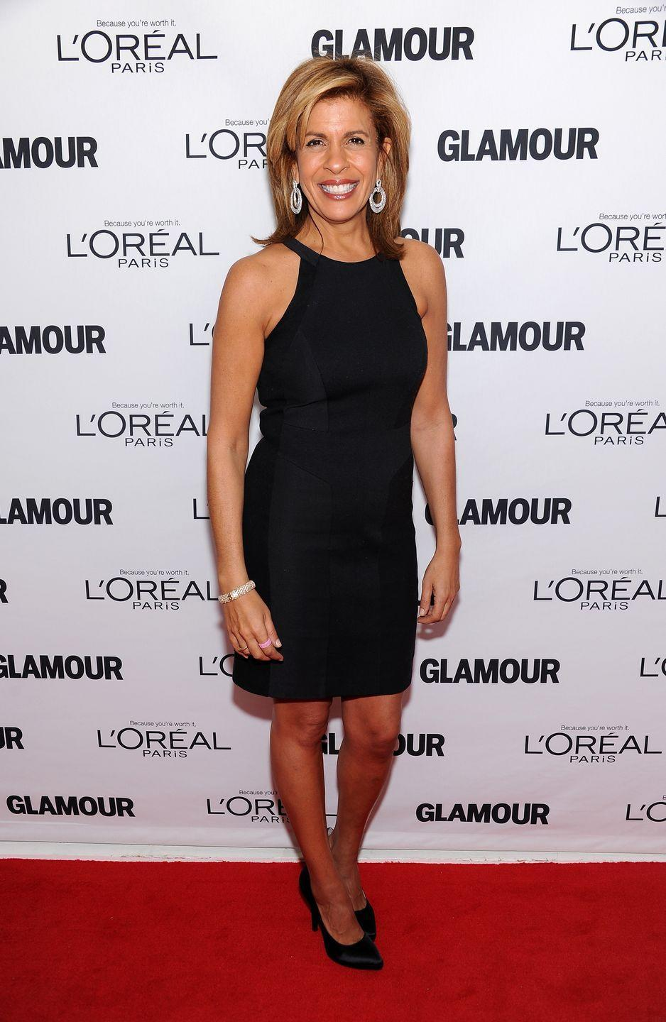 "<p>The <em>Today </em>show cohost is 55 years old, but you wouldn't know it by looking at her slim figure. Even better: The TV personality is a great workout partner, because she brings a ton of energy, <a href=""https://www.womenshealthmag.com/fitness/a28170156/hoda-kotb-bikini-instagram-video/"" rel=""nofollow noopener"" target=""_blank"" data-ylk=""slk:says her trainer, Chris Finn"" class=""link rapid-noclick-resp"">says her trainer, Chris Finn</a>. Hoda's also been open in the past when going through an exercise or diet rut, including when she went on J.Lo's crazy hard <a href=""https://www.womenshealthmag.com/weight-loss/a26131609/jennifer-lopez-hoda-kotb-10-day-challenge-ends/"" rel=""nofollow noopener"" target=""_blank"" data-ylk=""slk:10-day no-carb challenge"" class=""link rapid-noclick-resp"">10-day no-carb challenge</a> just to see if she could.</p>"