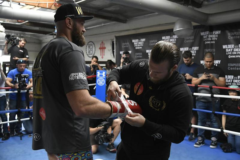 Fury now looking for a new trainer: Getty Images