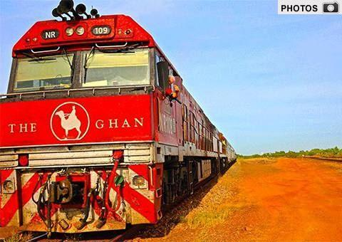 GALLERY: Click the image above to see more incredible pictures of the Ghan's Anzac Day tribute tour. Photo: Cristal Bettany for Total Travel