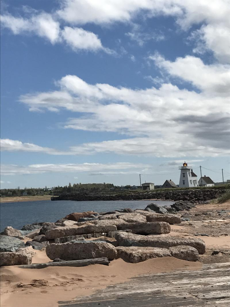 The view from North Rustico Harbour on Prince Edward Island. (Photo Courtesy of Brianne Hogan)