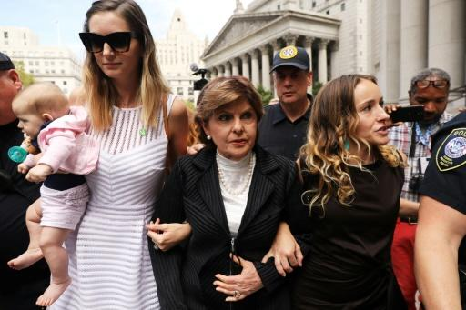 "Attorney Gloria Allred (center) says Harvey Weinstein's lawyers will ""try to do everything"" to attack the credibility of the witnesses"