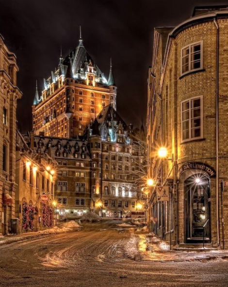 "<p>The 400-year-old buildings and cobblestone streets may draw you in, but Quebec City's electric nightlife will keep you. The report cites spots like La Boîte à Pain and Noctem Artisans Brasseurs as favourites, but a major must-see is <a rel=""nofollow"" href=""http://le-cercle.ca/"">Le Cercle,</a> which just so happens to be celebrating its 10th anniversary on Nov. 11. Another huge attraction? The <a rel=""nofollow"" href=""http://www.hoteldeglace-canada.com/"">Hotel de Glace</a>, of course. <br />(Instagram/<a rel=""nofollow"" href=""https://www.instagram.com/p/BQREK0BAdYW/"" rel=""nofollow"">travellingthroughtheworld</a>) </p>"