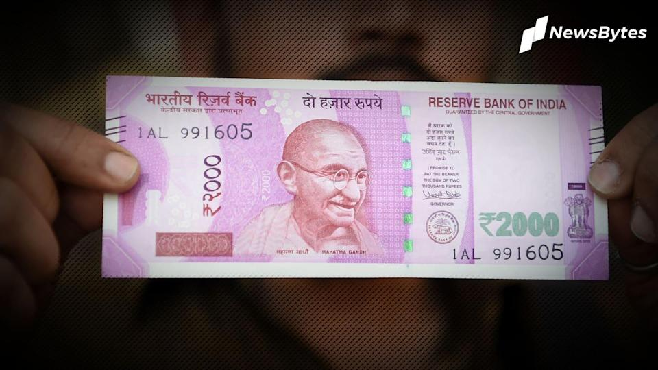 Not even one Rs. 2,000 note printed in 2019-20