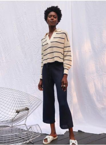 """<p>""""I love this modern take on a fisherman knit by <span>Eleven Six</span> ($298). The oversize crop cut has a relaxed feel to it and looks effortless on the weekend with denim or knit pants."""" - DAC</p>"""
