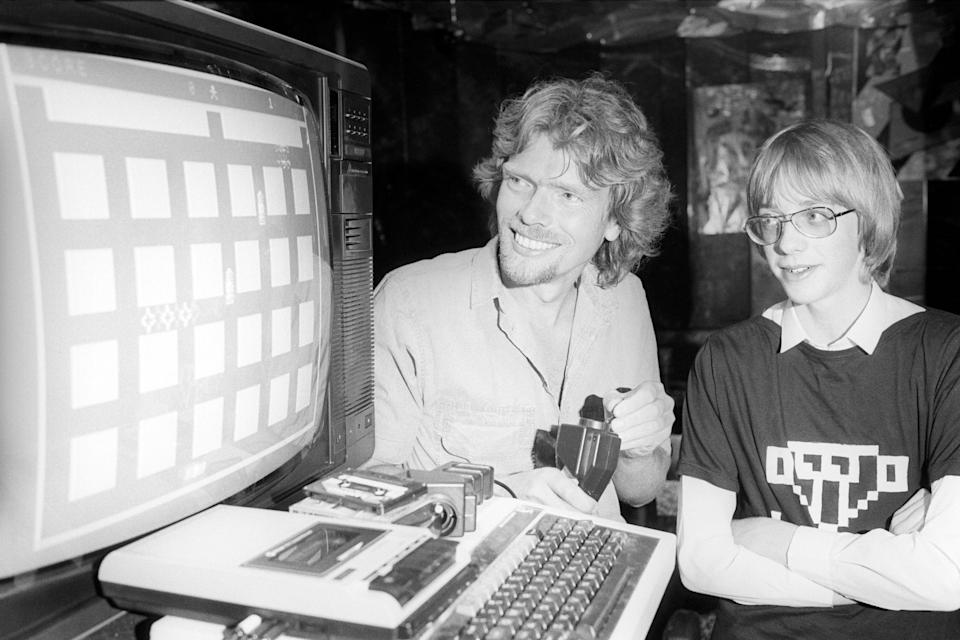 Richard Branson in his Virgin Records days (PA Archive)
