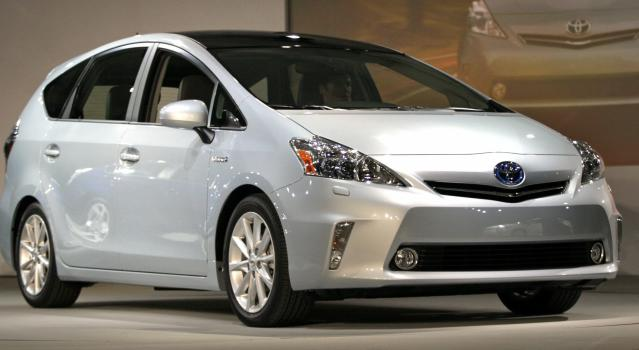 <p><strong>Toyota Prius V</strong><br><strong>Price as tested:</strong> $28,217<br><strong>Highlights:</strong> Roomy rear seat, generous cargo area. Excellent mpg.<br><strong>Lowlights:</strong> Electric motor/engine have to work quite hard, can have some rocking on uneven pavement.<br>(Getty Images) </p>