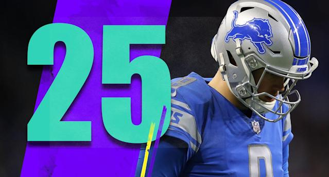 <p>Matthew Stafford had 116 yards on 32 attempts against the Vikings. The Lions need to take a hard, honest look at what has happened to the offense. Stafford wasn't great before this season, but he was never this ineffective. (Matthew Stafford) </p>