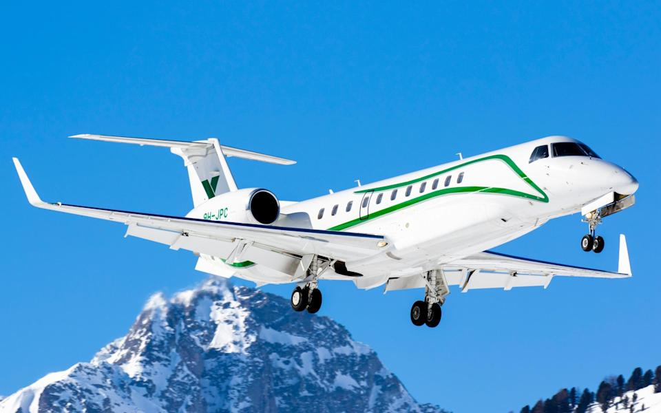 Increasing numbers are choosing to fly directly to the alps this winter - Sandro Koster