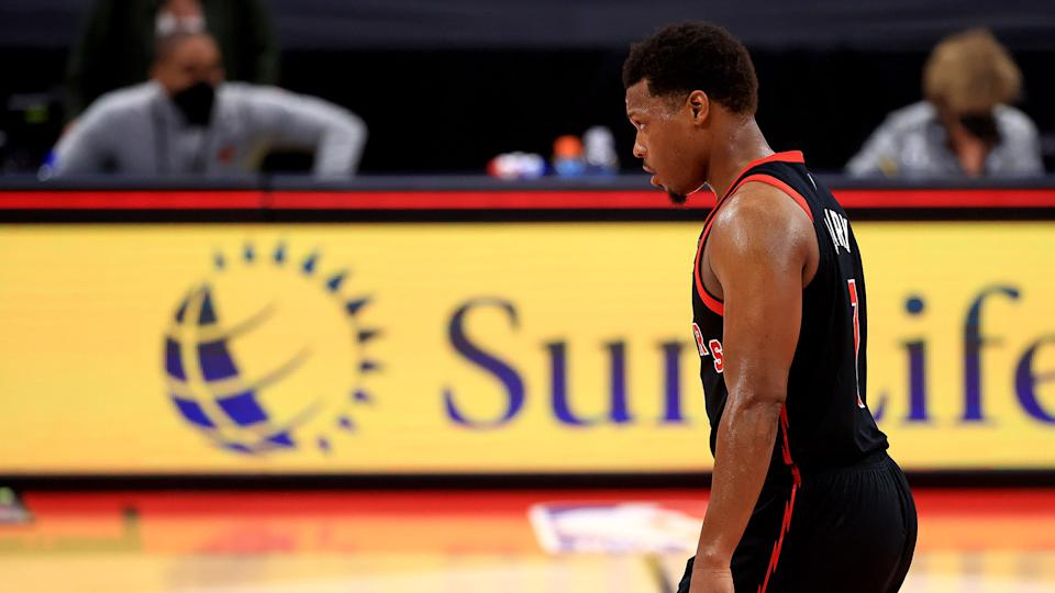 Kyle Lowry has been one of the few bright spots for the Raptors this season. (Photo by Mike Ehrmann/Getty Images)