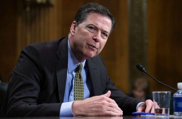 PHOTO: FBI Director James Comey testifies before the Senate Judiciary Committee hearing on 'Oversight of the Federal Bureau of Investigation.'May 3, 2017. (Shawn Thew/EPA via Shutterstock)