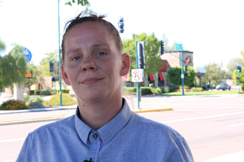 A former Chili's employee, Meagan Hunter, alleges that due to gender discrimination, she wasn't promoted at work. (Photo: ACLU of Arizona)