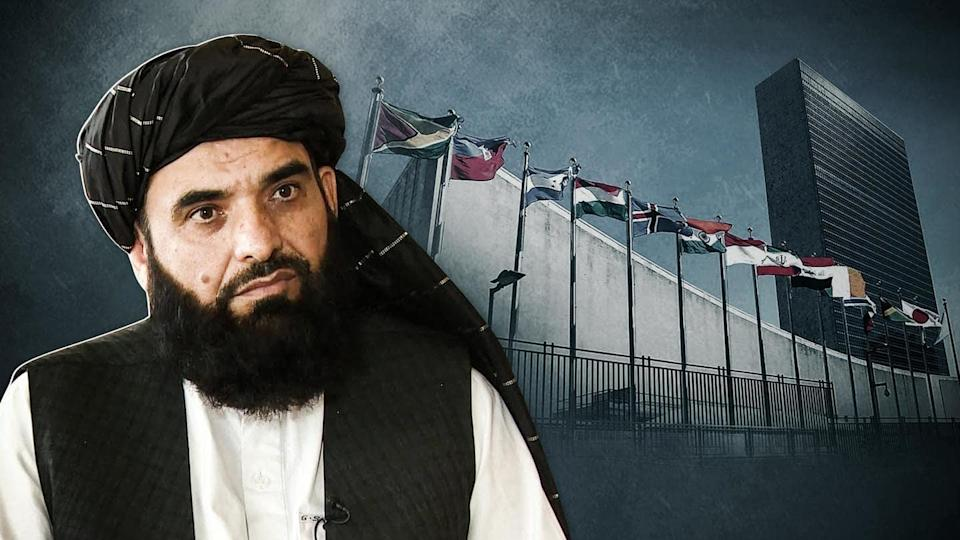 Taliban requests to address UN; names Suhail Shaheen as envoy